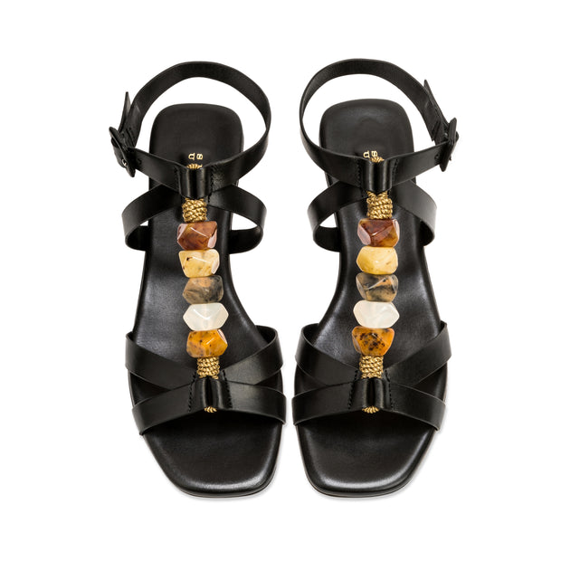Minerva Cross Sandal