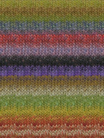 Noro Silk Garden 424 Olive, Red, Purple