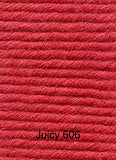 Sublime Baby Cashmere Merino Silk DK Juicy 606 bright red