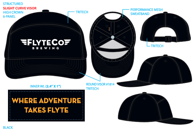 NEW* Mile High Crown Club Hat (4 styles)
