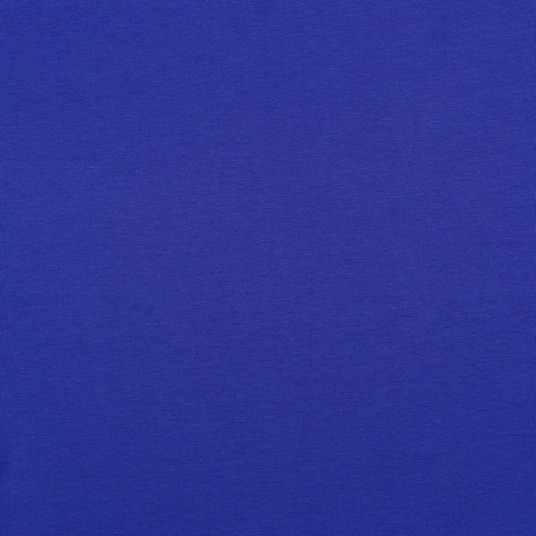 Bright Blue Cotton Solid Jersey
