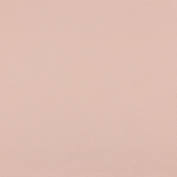 Pale Pink Cotton Solid Jersey