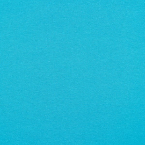 Ice Blue Cotton Solid Jersey