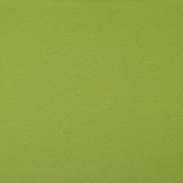 Olive Green Cotton Solid Jersey