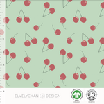 Elvelyckan Design Organic Cherries - Neo Mint