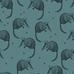 Organic Armadillo - Oil Blue Jersey By Bloome Copenhagen