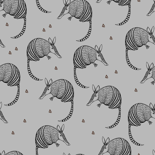 Organic Armadillo - Light Grey Jersey By Bloome Copenhagen