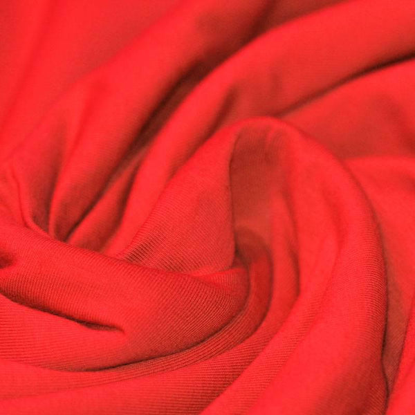 Red Cotton Solid Jersey
