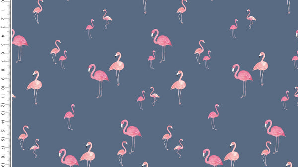 Flamingo Flock - Navy