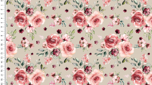 Romantic Roses - Taupe PREORDER
