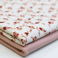 Rose Print Cotton Jersey