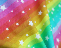 Rainbow Star Cotton Jersey