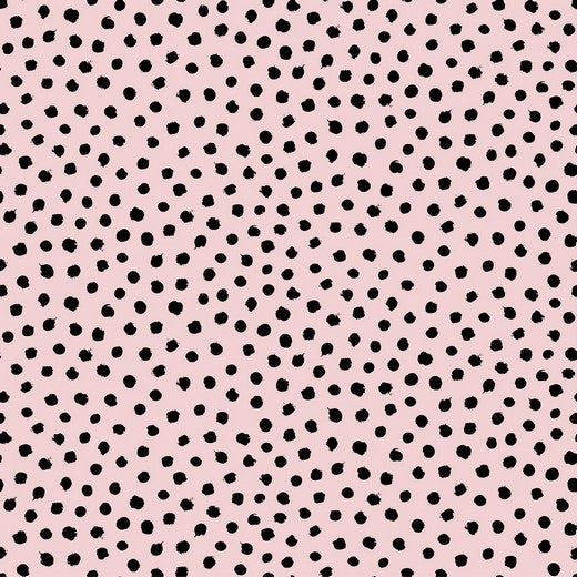 Organic Dots - Light Rose