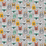 Cool Glasses Cats - Light Grey