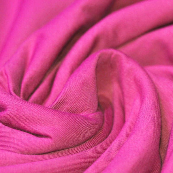 Hot Pink Cotton Solid Jersey