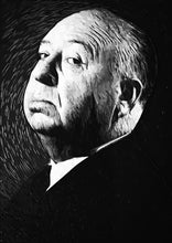 Alfred Hitchcock - Art Print