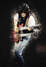 Jimmy Page II - Art Print