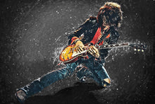Joe Perry - Art Print
