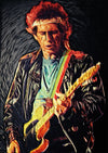 Keith Richards - Art Print - Zapista