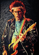 Keith Richards - Art Print