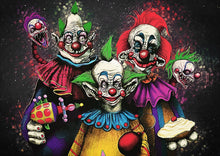Killer Klowns From Outer Space - Art Print