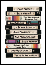 PERSONALISED RETRO VIDEO TAPE PRINT