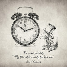 Alice In Wonderland Quote - Art Print