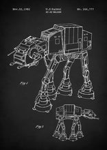 At-at Walker - Art Print