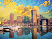 Baltimore Maryland Skyline - Art Print