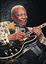 BB King - Art Print