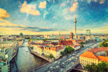Berlin Skyline - Art Print