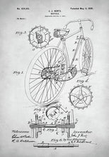 Bicycle Patent - Art Print