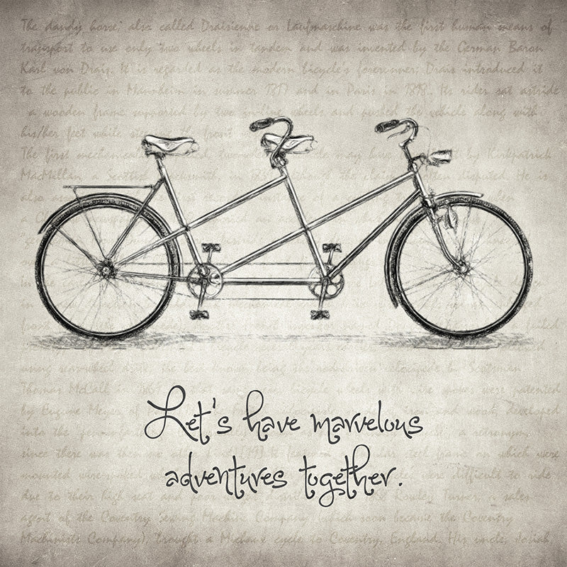 Bicycle Quote - Art Print