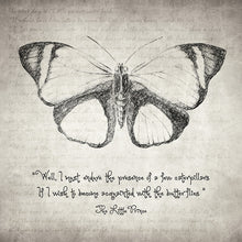 Butterfly Quote - The Little Prince - Art Print