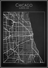 Chicago Map - Art Print