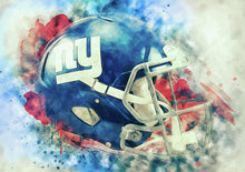 Giants Helmet - Art Print