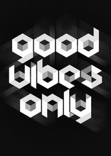 Good Vibes Only Quote - Art Print