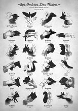 Hand Shadows - Art Print