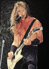 James Hetfield - Art Print