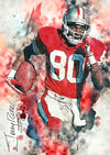 Jerry Rice - Art Print - Zapista