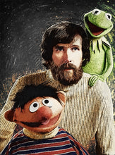 Jim Henson Together With Ernie And Kermit The Frog - Art Print