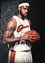 Lebron James - Art Print