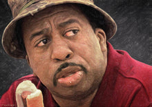 Leslie David Baker as Stanley Hudson - Art Print
