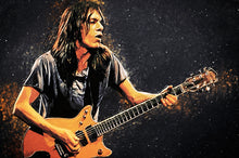 Malcolm Young - Art Print
