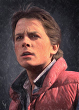 Marty Mcfly - Art Print