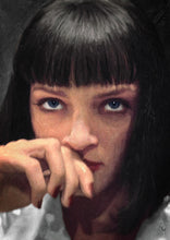 Mia Wallace - Pulp Fiction - Art Print