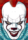 Pennywise - It Clown - Art Print - Zapista