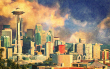 Seattle Skyline - Art Print