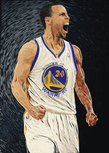 Stephen Curry - Art Print