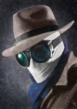 The Invisible Man - Art Print
